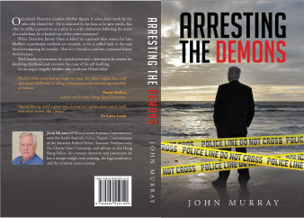 Detective book cover design and printing
