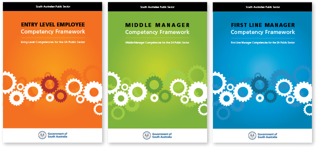 Adelaide training manual book cover design