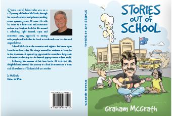Book cover design school stories