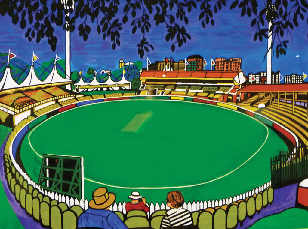 Adelaide Oval painting