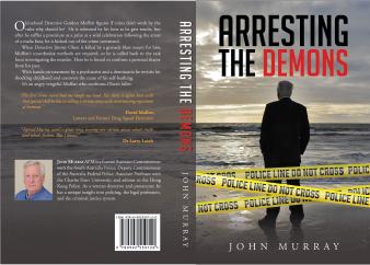 Detective book cover design