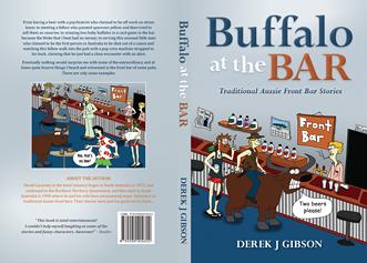 Aussie pub stories book cover design